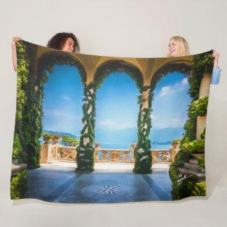 Couverture Polaire Voûtes d'art élégant coloré de photo de l'Italie