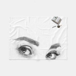 Couverture Polaire yeux pour vous