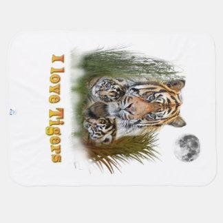 Couverture Pour Bébé Art de tigre et de petits animaux