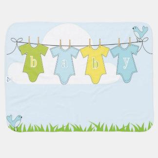 Couverture Pour Bébé Blankie d'oiseau de bébé recevant des couvertures