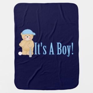Couverture Pour Bébé C'est un ours de nounours de garçon