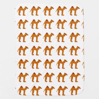 Couverture Pour Bébé Chameau de tampon en caoutchouc, en couleurs