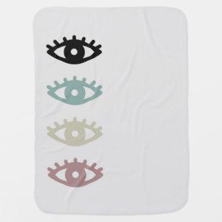 Couverture Pour Bébé colorful eyes