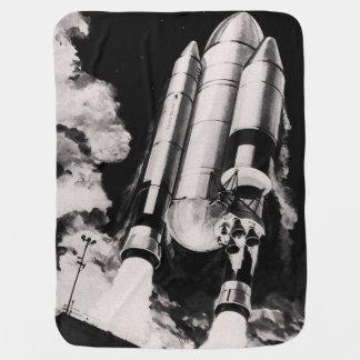 Couverture Pour Bébé Concept d'artiste de lanceur de navette spatiale
