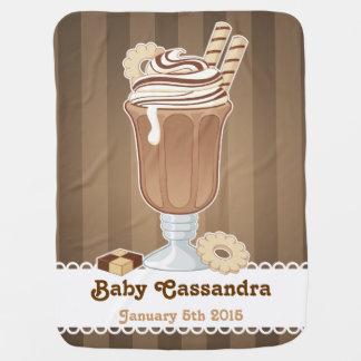 Couverture Pour Bébé Conception démodée mignonne de milkshake de