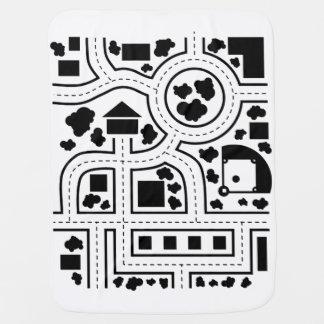 Couverture Pour Bébé Couverture de route - blanc