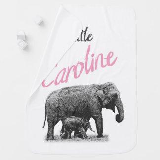 """Couverture Pour Bébé Couverture personnalisée """"petite Caroline """" de"""