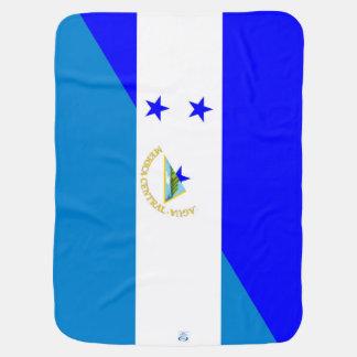 Couverture Pour Bébé demi de symbole de pays de drapeau du Honduras