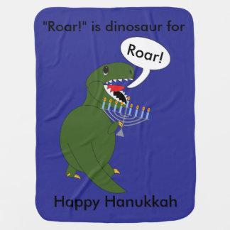 Couverture Pour Bébé Dinosaure de Rex de Tyrannosaurus de Hanoukka