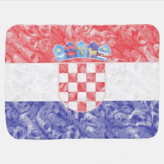 Couverture Pour Bébé Drapeau croate