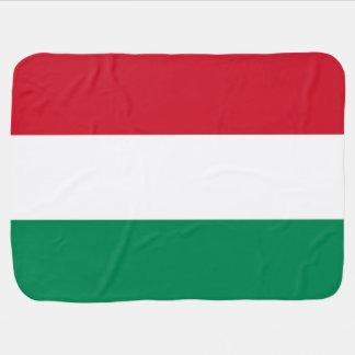 Couverture Pour Bébé Drapeau de la Hongrie