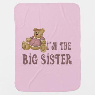 Couverture Pour Bébé Grande soeur d'ours