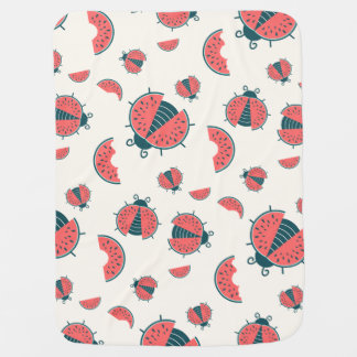 Couverture Pour Bébé Insectes de melon