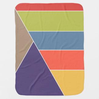 Couverture Pour Bébé La MOSAÏQUE barre des triangles a coloré I + vos