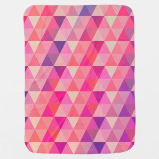 Couverture Pour Bébé L'amusement colore le motif géométrique de