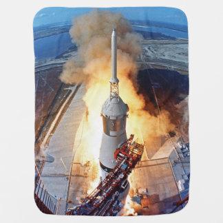 Couverture Pour Bébé Lancement de Rocket d'alunissage de la NASA Apollo