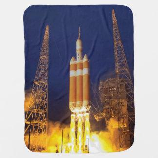 Couverture Pour Bébé Lancement de Rocket de vaisseau spatial de la NASA