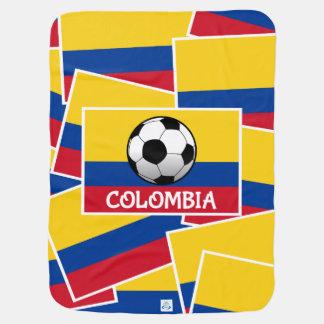 Couverture Pour Bébé Le football de la Colombie
