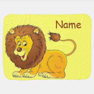 Couverture Pour Bébé Lion mignon personnalisé