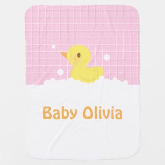 Couverture Pour Bébé Mignon en caoutchouc mignon dans la douche pour