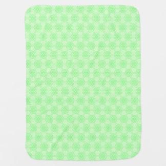 Couverture Pour Bébé Motif géométrique vert unisexe