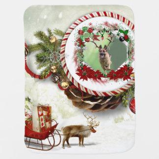 Couverture Pour Bébé Noël de berger allemand