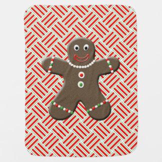 Couverture Pour Bébé Noël mignon de bébé de biscuit de bonhomme en pain
