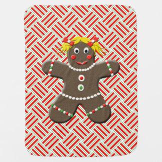 Couverture Pour Bébé Noël mignon de bébé de biscuit de pain d'épice