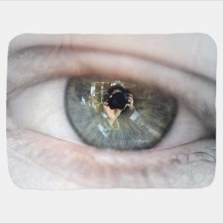 Couverture Pour Bébé Oeil-Macro par Shirley Taylor