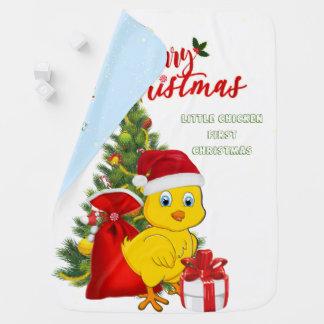 Couverture Pour Bébé Petit Noël de poulet de bébé