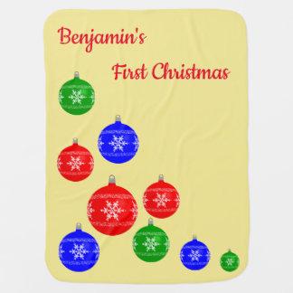 Couverture Pour Bébé Première couverture de Noël