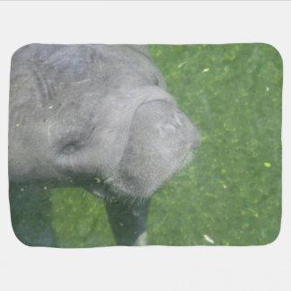 Couverture Pour Bébé Sourires de lamantin