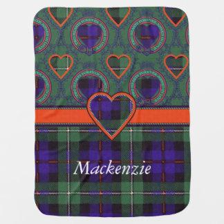 Couverture Pour Bébé Tartan d'écossais de plaid de clan du Mackenzie