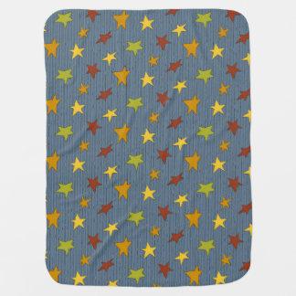 Couverture puérile d'étoiles couverture pour bébé