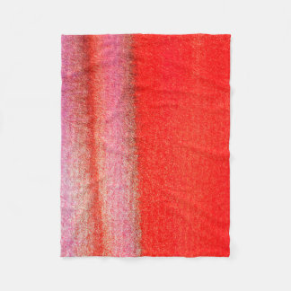 Couverture rouge d'ouatine d'or, petite
