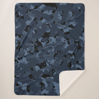 Couverture Sherpa Nuit Camo