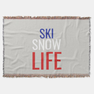 Couverture Ski, neige, la vie