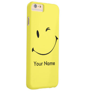 Couverture souriante coque iPhone 6 plus barely there