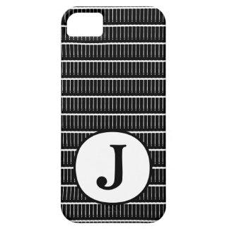 Couverture sur de tendance du monogramme B et du W Coque Case-Mate iPhone 5