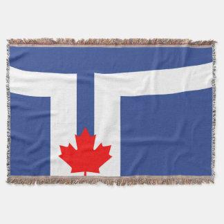 Couverture Symbole du Canada de drapeau de ville de Toronto
