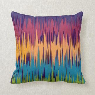 Couverture tribale abstraite colorée de coussin de