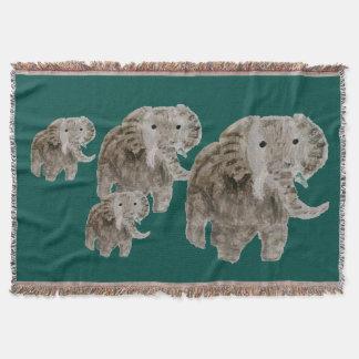 Couvertures Art d'éléphant d'animal sauvage