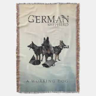 Couvertures Chien de berger allemand de travail - GSD