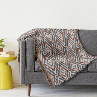 Couvertures Couleurs d'art populaire de motif de Kilim