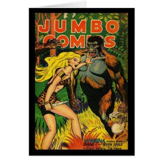 Couvertures de bande dessinée de cartes vintages