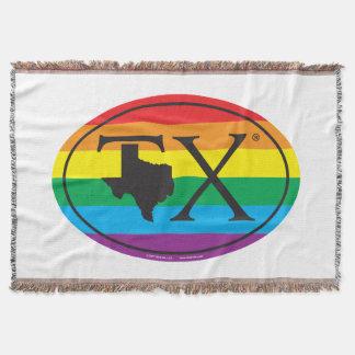 Couvertures Euro de fierté d'état de LGBT : TX le Texas