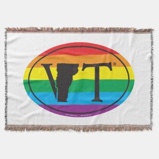 Couvertures Euro de fierté d'état de LGBT : VT Vermont