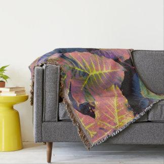 Couvertures Feuille d'éléphant aux pastels tropicaux