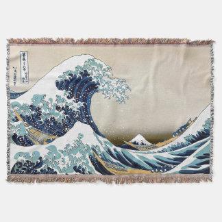Couvertures Grande vague de haute qualité outre de Kanagawa