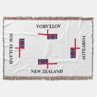 Couvertures Jet de drapeau de tribus uni par AOTEAROA de
